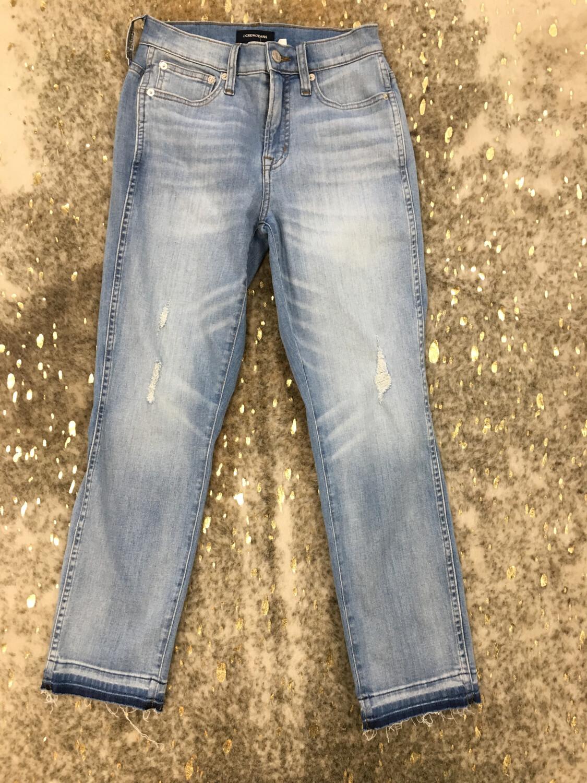 J. Crew Vintage Straight Jeans - Size 24