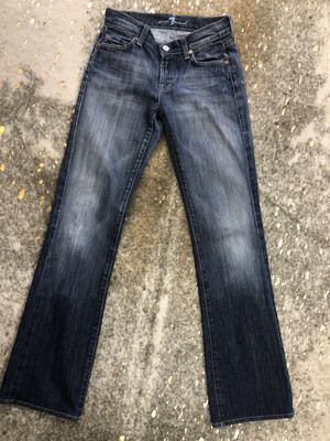 For All Mankind Medium Wash Bootcut Jeans - Size 26