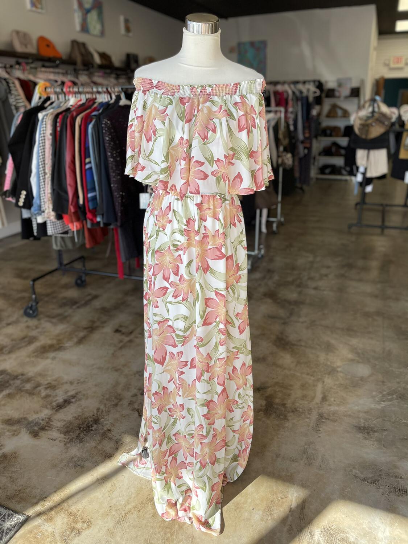 Show Me Your Mumu Floral Maxi Dress - XL