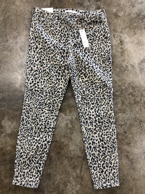 Ella Moss High Rise Skinny Ankle Cheetah Jeans - Size 28