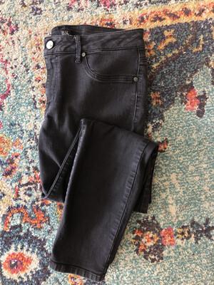 1822 Denim Black Jeans - Size 14
