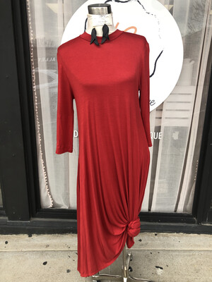 Sweet Lindsey Red Long Dress - M