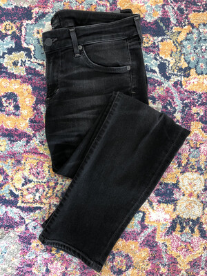 Citizens of Humanity Black Racer Low Rise Skinny Jeans - Size 30