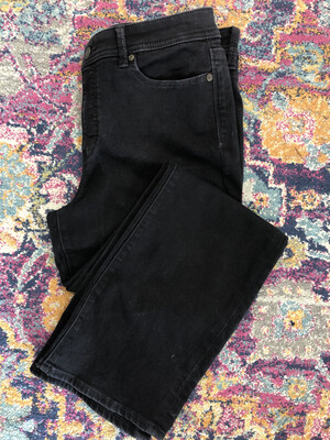 Talbots Black Barely Boot Jeans - Size 10