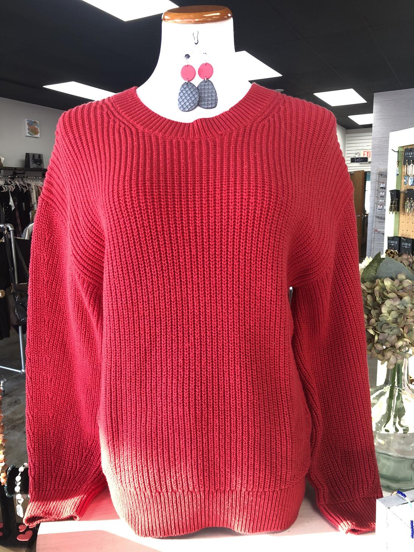 Gap Red Sweater - M