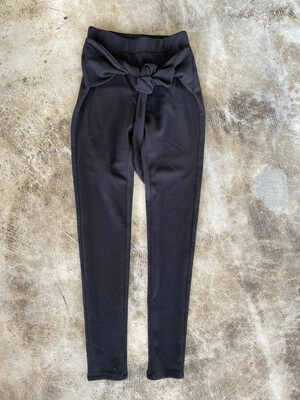 Material Girl Black Stretchy Pants - S