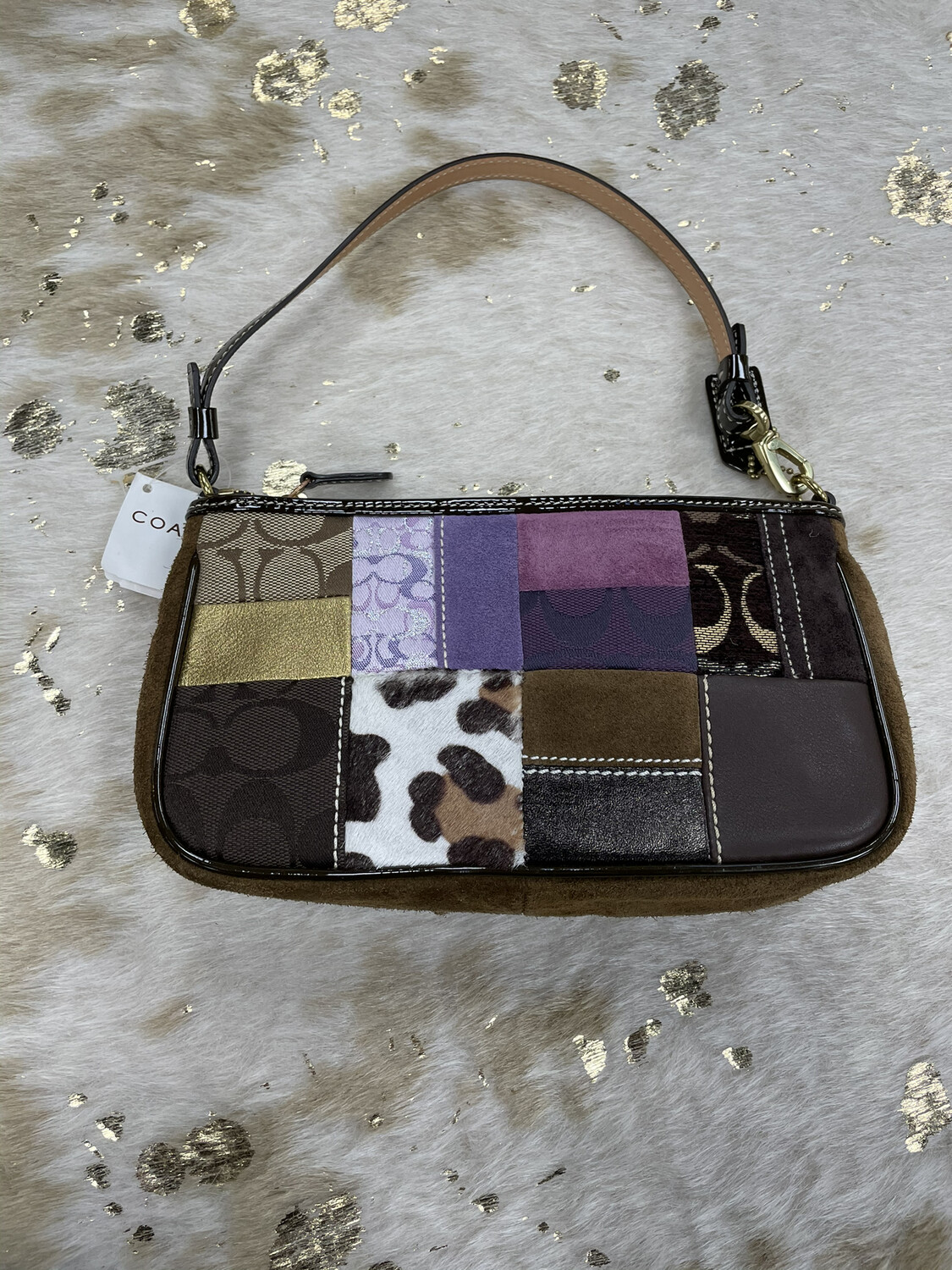 Coach Small Patchwork Purse
