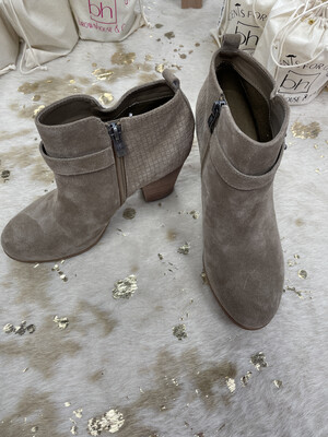 Michael By Michael Shannon Taupe Booties - Size 9.5