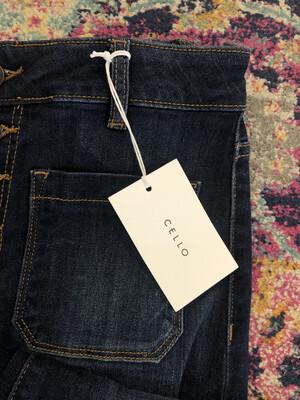 Cello Dark Wash Flare Jeans - Size 9