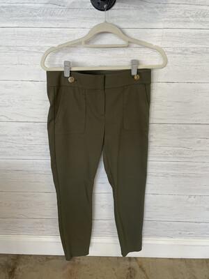 LOFT Green Marisa Pants - Size 4