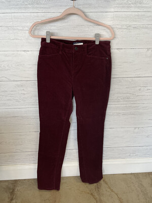 Talbots Red Cord Pants - Size 4