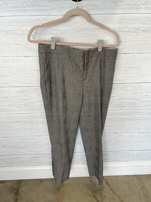 Banana Republic Plaid Pants - Size 6