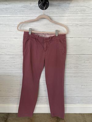 J. Crew Dusty Rose Waverly Chino Pants - Size 4