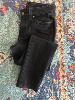 LOFT Black Modern Skinny Jeans - Size 6