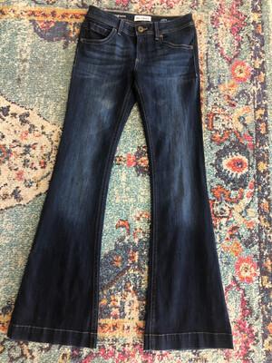DL1961 Joy Flare Jeans with Raw Hem - Size 28