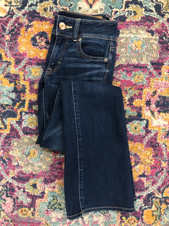 American Eagle Kick Boot Jeans - Size 0