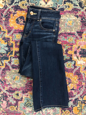 American Eagle Kick Boot Jeans - Size 0