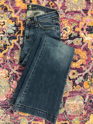 For All Mankind Dojo Denim Flare Jeans - Size 25