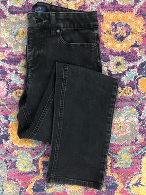 Talbots Black Simply Flattering 5 Pocket Jeans - Size 4 Curvy
