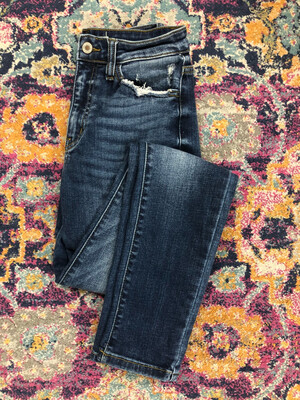 KanCan High Waisted Distressed Pocket Jeans - Size 27