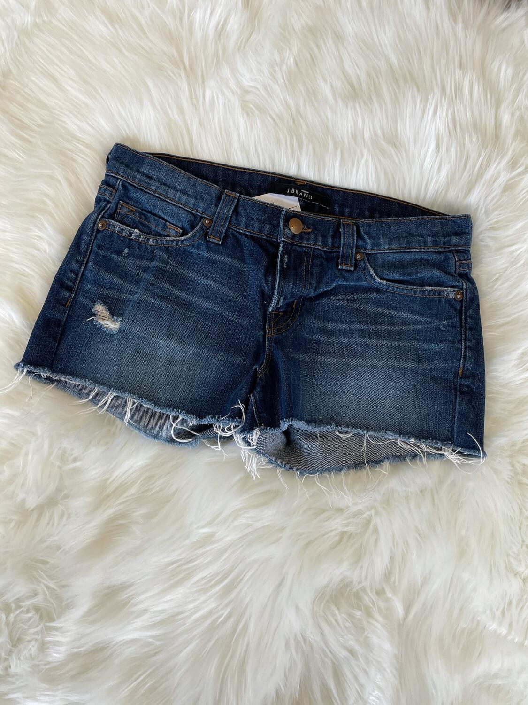 J Brand Medium Wash Cutoff Denim Shorts - Size 26