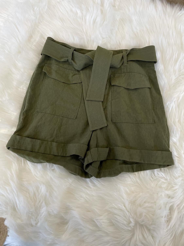 Express Oliver Belted Shorts - Size 8
