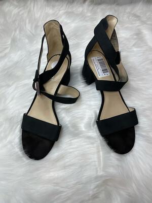 Nine West Sandal Block Heels w/ Ankle Strap - Size 9