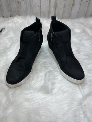 CCocci Black Wedge Sneakers - Size 10