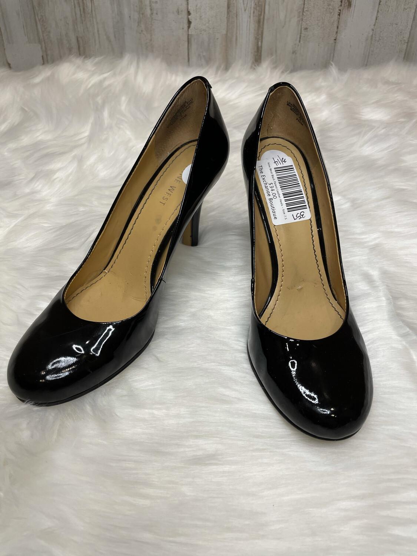 Nine West Black Patent Leather Heels - Size 7.5