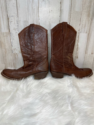 Stetson Brown Leather Boots - Size 6.5