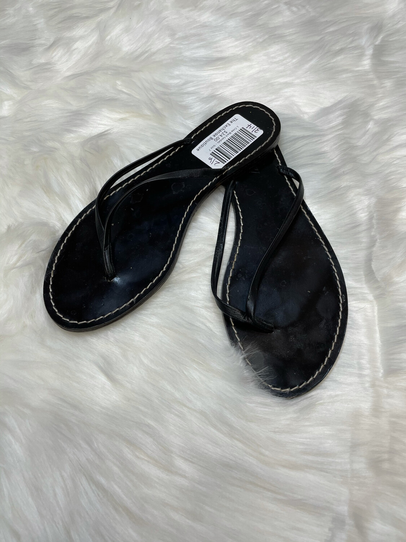 J. Crew Black Sandals - Size 7