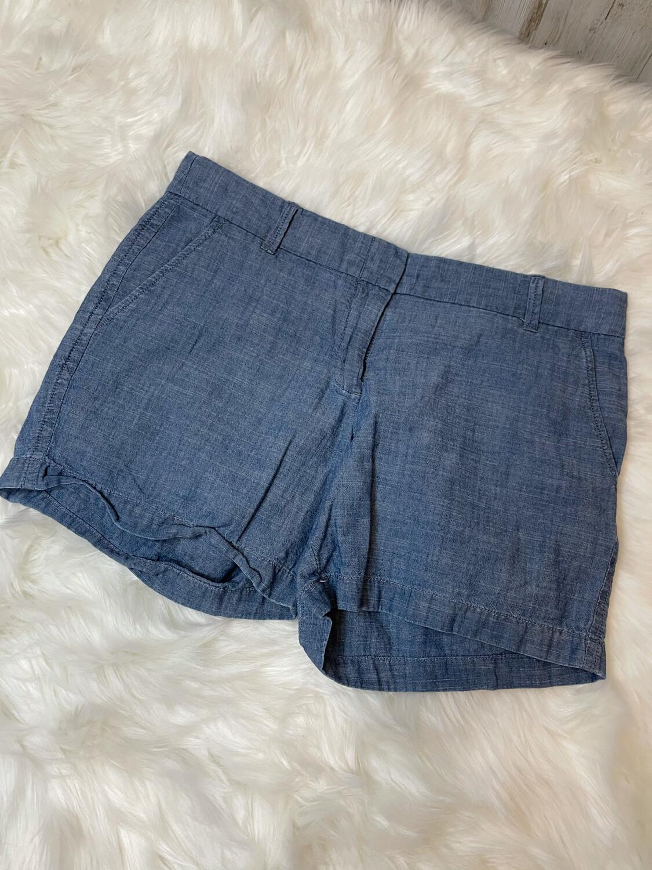 J. Crew Chambray Shorts - Size 8