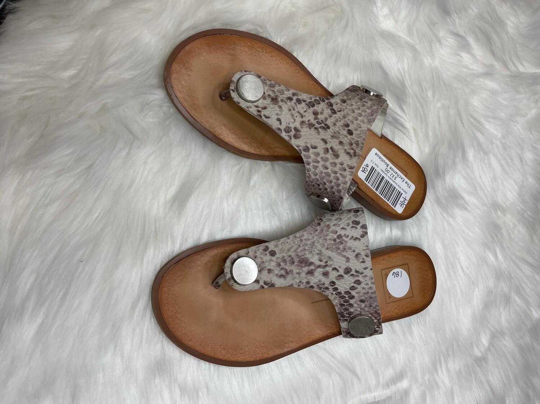 Dolce Vita Snakeskin Sandals - Size 7.5