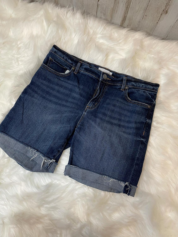 LOFT Cuffed Denim Shorts - Size 28