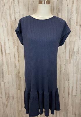 Southern Tide Navy Knit Sweater Dress - L