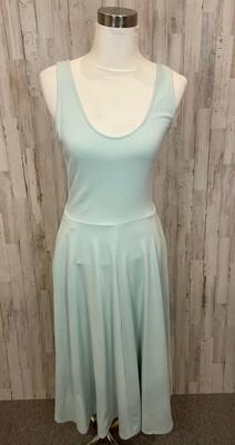 Leith Mint Midi Tank Dress w/ Pockets - M