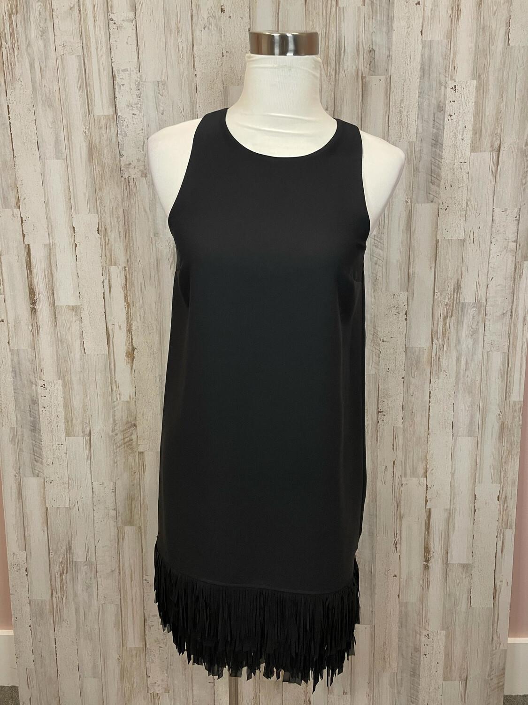 Banana Republic Black Tassel Trim Tank Dress - Size 4