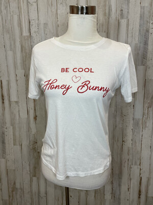 Native Daughters Be Cool Honey Bunny Cropped Tee - S
