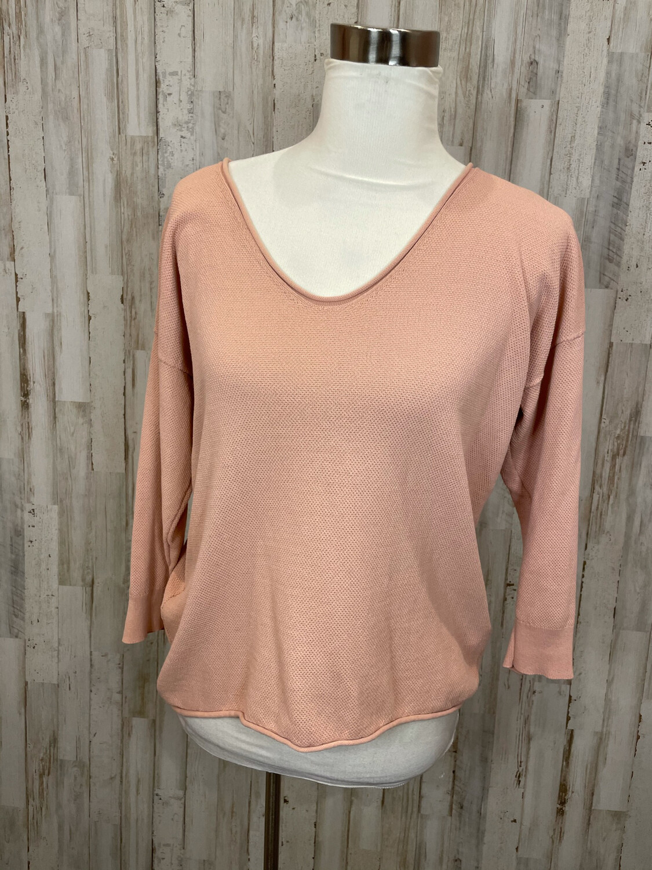 Madewell Pink Knit Lightweight Sweater - M