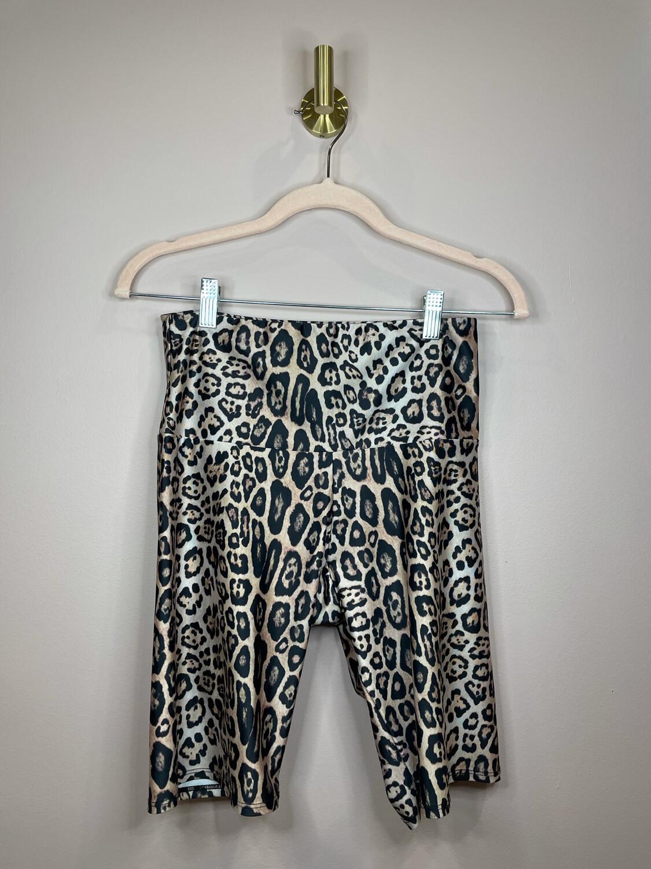 Onzie Animal Print Biker Shorts - M/L