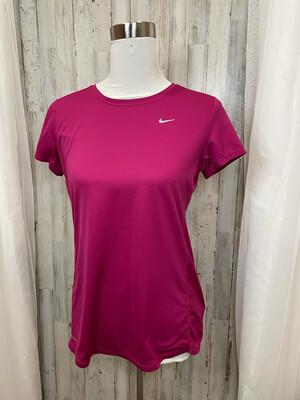 Nike Fuchsia Dri-Fit Athletic Top - L