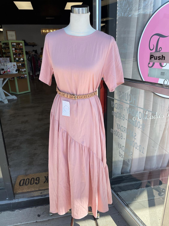 Hayden Pink Long Dress - L