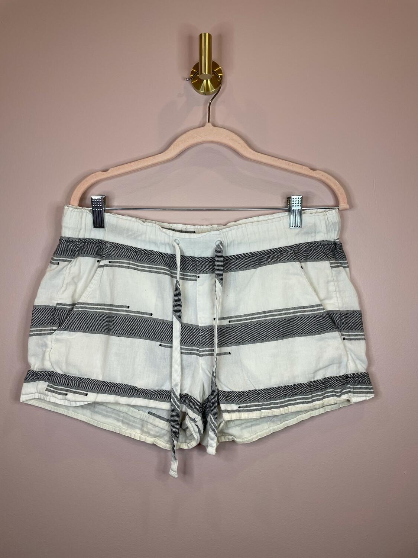 Lou & Grey Black & White Shorts w/Tie - S