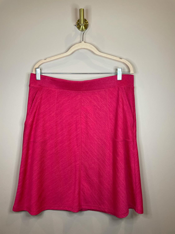Talbots Pink Skirt w/Pockets - L