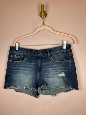 m1858 New York Curvy Mid Rise Jean Shorts - Size 4/27