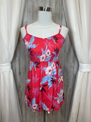 American Eagle Outfitters Pink Sundress w/Floral Print - XS/TP
