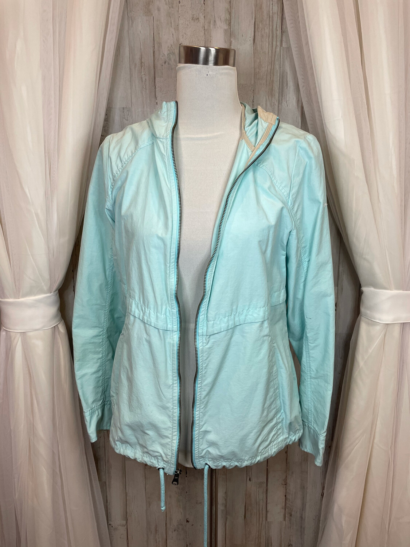 Columbia Aqua Zip Up Hooded Jacket - M