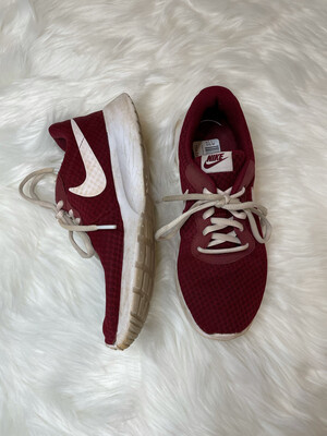 Nike Maroon Running Shoes - Size 7.5