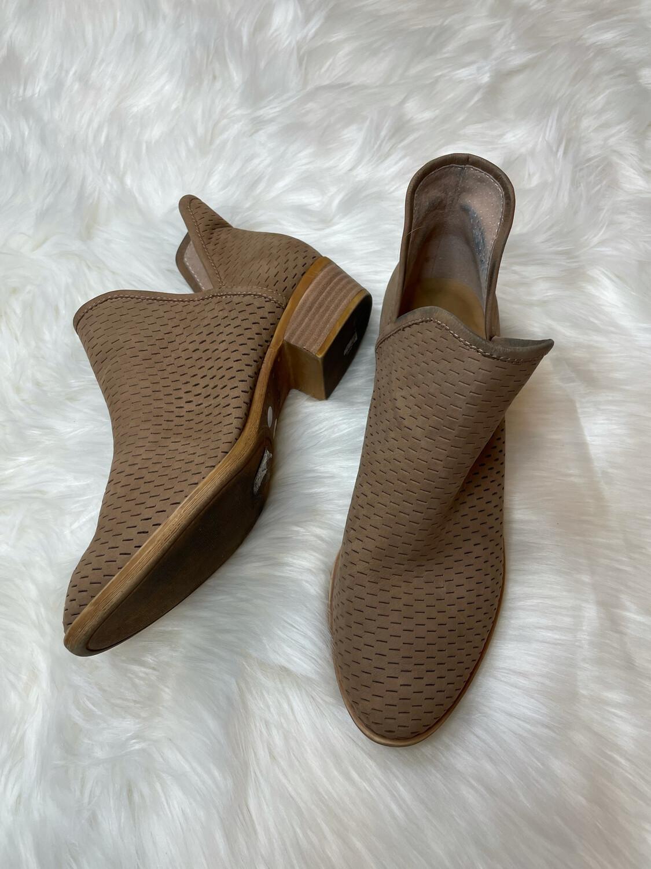 Lucky Brand Light Brown Booties - Size 9.5