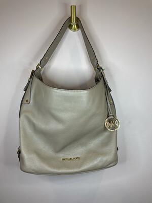 Michael Kors Tan Pebbled Leather Single Strap Shoulder Bag
